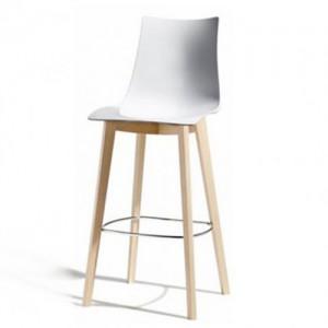 Zebra Stool - Timber Leg - Wood Furniture