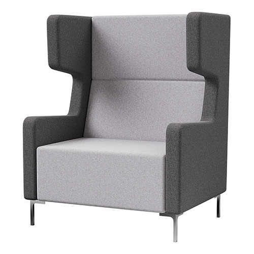 Blanc accoustic sound proof chair