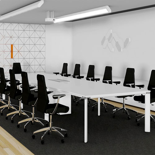 Diamond Meeting Table