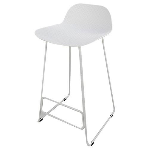 Arco powdercoated sled base Stool