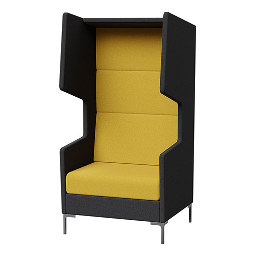 Khloe Quiet Lounge accoustic sound proof