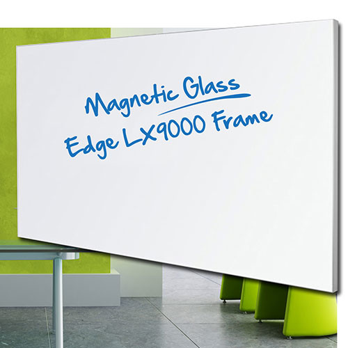 EDGE LX9000 Architectural Framed Magnetic Glassboard