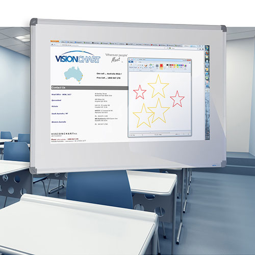 Projection Porcelain Whiteboards