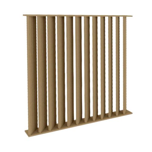 Slat Wall - Angle