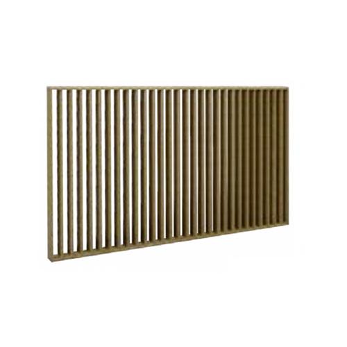 Slat Wall - Straight