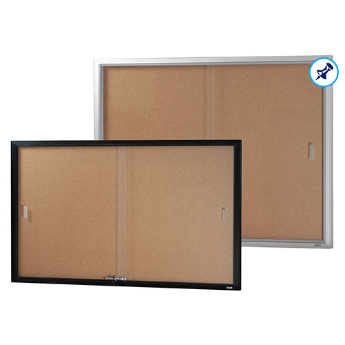Be Noticed - Sliding Door Notice Case