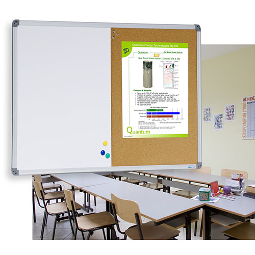 Combi Whiteboard and Corkboard