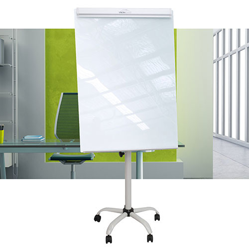 Magnetic Glass Flipchart