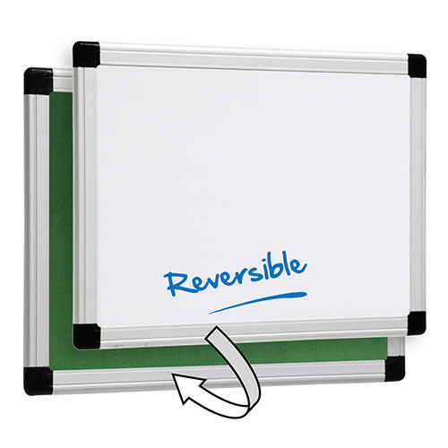 Reversible Whiteboard and Pinboard