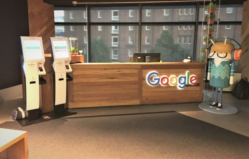 Google Offices-wood offices