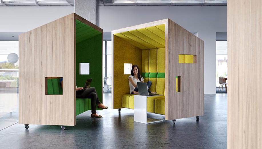 Office Pods: Teamwork vs. Privacy